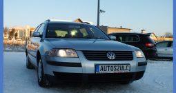 VOLKSWAGEN PASSAT B5 FL 2.0 Benzyna/ Oryginalny Przebieg/ Wersja kombi/ Zadbany/ Gwarancja