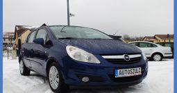 Opel Corsa 1.3 CDTI, Model: 2008r. 5-drzwi, Zadbany, Mały przebieg, Ekonomiczny