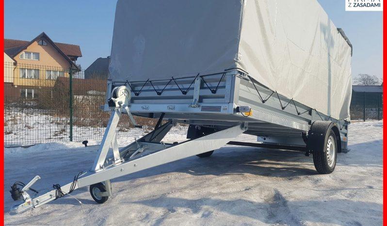 Przyczepka Neptun 345x150x30 + PLANDEKA 120H ,Długa , Platforma, Wywrotka, Resor full