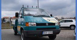 VW T-4 1.9 D Skrzynia, Zarejestrowany, Hak, Spełnia Vat-1 ,3-osobowy