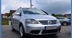 VW Golf Plus 1.9 TDI, Zarejestrowany, Opłacony, Navi, Klima, Zadbany, I-Właściciel