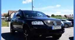 VW Touareg 2,5 TDI, 4×4 ( Terenowy ) , Czarna perła, Doinwestowany, I-Właściciel, Model : 2005
