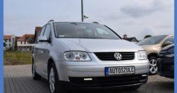 VW Touran 1.9 TDI, 7-Osobowy, Zarejestrowany, Bez wkładu finansowego, Po wymianie rozrządu, Alufelgi, Klima, Opłacony
