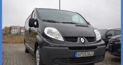 Renault Trafic 2.0 DCI , LONG, 3-Osobowy, Spełnia warunki Vat-1, Motylkowe drzwi , 6-biegów, Zadbany, I-Właściciel, Serwisowany, Bezwypadkowy