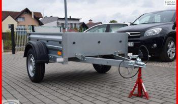 Przyczepa TEMA 150x106x32 , Możliwy dowóz pod sam dom, Raty, DMC : 750 kg, NOWA full