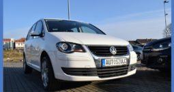 VW Touran 1.9 TDI 105KM, Zarejestrowany, Wersja: Lift, Opłacony, Automat (6-cio biegowy), Model : 2009