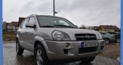 Hyundai Tucson 2.0 CRDI,  Serwisowany, Bezwypadkowy, Terenowy 4×4, Hak, Skóry, Klima, Zadbany