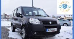 Fiat Doblo 1.3 JTD, I-Właściciel, Model : 2007, 7-Osobowy, Zarejestrowany, Hak, Ekonomiczny