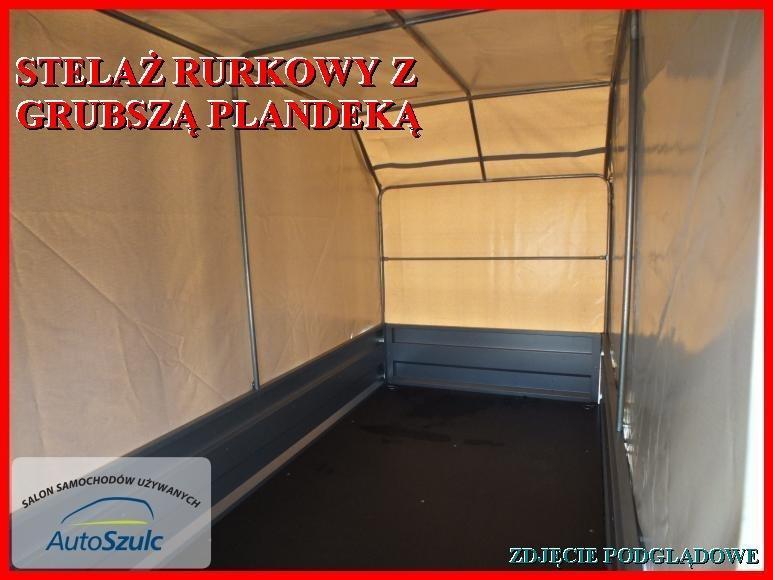 Topnotch PRZYCZEPKA NEPTUN DOSTĘPNA 263x129x40 DWIE OSIE,PLANDEKA – AutoSzulc BM14