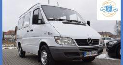 Mercedes-Benz Sprinter 2.2 DCI, Zarejestrowany, 9-Osobowy, Bardzo ładny stan, Bez wkładu własnego !!