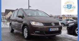 VW Sharan 2.0 TDI BlueMotion, Model : 2012, Serwisowany, Bezwypadkowy, Zadbany, Nowy Brązowy kolor !
