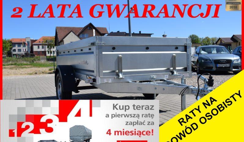 Przyczepa Neptun RESOR + AMORTYZATOR 236x129x45 , rozbieralna, DMC 750 kg, Nowa, Solidna