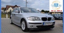 BMW 116 1.6 Benzyna, Zarejestrowany, I-Właściciel, 5-drzwi, Bez inwestycji, Gwarancja