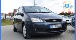 Ford Focus C-MAX 1.8 Benzyna, Model : 2006 , Moc : 125 KM, Rodzinny, Praktyczny