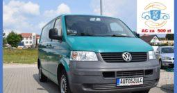 Volkswagen Transporter T5 1.9 TDI , I-Właściciel, 3-osobowy, Spełnia warunki Vat-1, Zadbany, Bez wkładu własnego