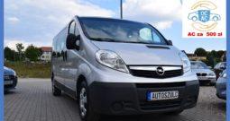 Opel Vivaro 2.0 CDTI, I-Właściciel,Euro-5, NAVI, Klima, Wersja LONG, 9-Osobowy, Zadbany, Godny Uwagi