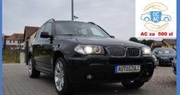 BMW X3 3.0 TDI , M-Pakiet, Serwisowany, Automat, 4×4, Xenon, Czujniki Parkowania, Hak, Klimatronik, Zadbany