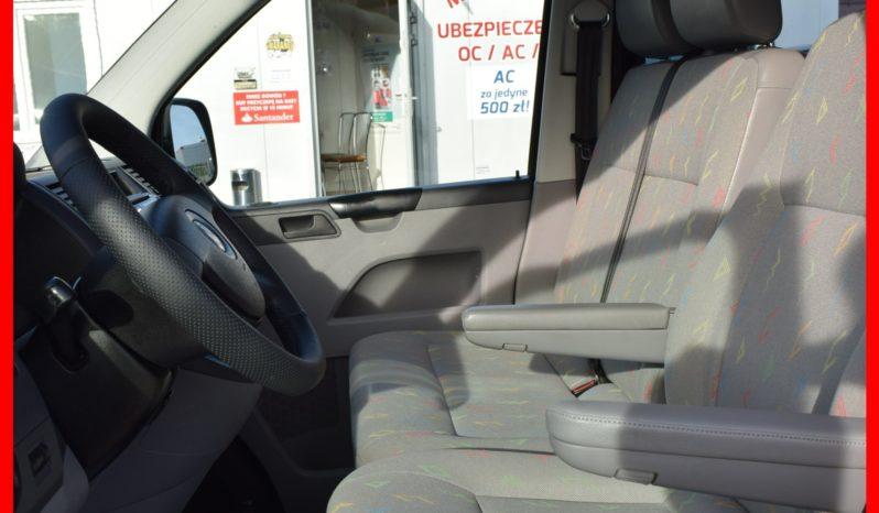 Volkswagen Transporter T5, 1.9 TDI, Brygadówka, 6-osobowy, Wersja Long, Klima, Hak, Motylkowe drzwi, Sprawny, Zadbany full