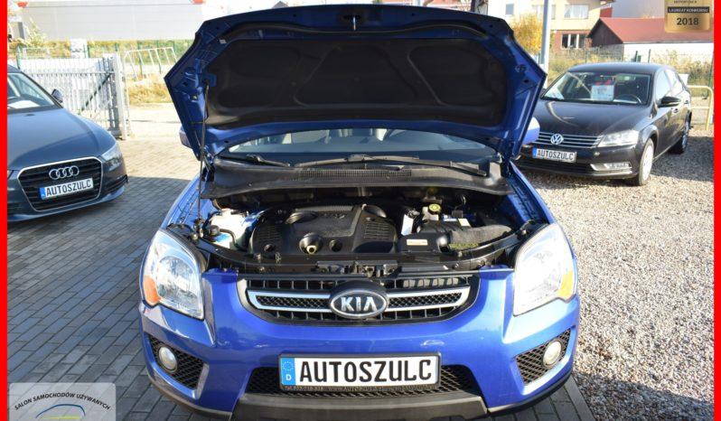 Kia Sportage 2.0 CRDI, Terenowy 4×4, Stan jak Nowy, FV23%, Środek utrzymany super, I-Właściciel, Niski przebieg (udokumentowany), Niespotykany! full