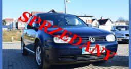 VW Golf IV 1.4 Benzyna + GAZ , Instalacja ważna do 2021, Zarejestrowany, Opłacony, Ekonomiczny