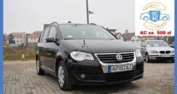 Volkswagen Touran 1.9 TDI , Lift, Zarejestrowany, Opłacony, I- Właściciel , Model: 2008, Navi, Klima, Hak , Gwarancja