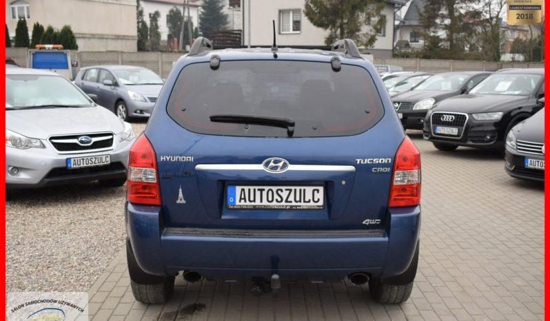 Hyundai Tucson 2.0 CRDI, Terenowy 4×4 , Zadbany, Model : 2006, Gwarancja full