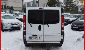 Opel Vivaro 2.0 CDTI , Wersja Long, 6-osobowy, Brygadówka, Klima, Navi, Bardzo dobry stan, Gwarancja full