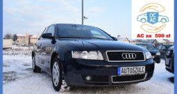 Audi A4 B6 1.9 TDI 131 KM , Sprowadzony, Limuzyna, Ekonomiczny, Bezawaryjny, Zadbany, Gwarancja