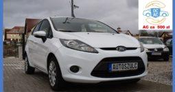 Ford Fiesta Mk7 1.4 Benzyna + Gaz, Sprowadzony, 5-drzwi, Ekonomiczny, Klima, Zadbany, Gwarancja