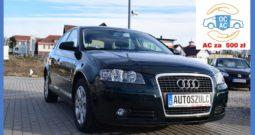 Audi A3 2.0 TDI Sportback, 5-drzwi, Bezwypadkowy, Panoramiczny dach, Model : 2008, bogata opcja, Zadbany, Gwarancja