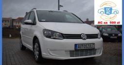 VW Touran 1.6 TDI Common Rail, Zarejestrowany, 7-osobowy (rodzinny), Bezawaryjny, Zadbany, Gwarancja techniczna
