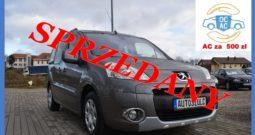 Peugeot Partner Tepee 1.6 HDI , Z Niemiec, Niski przebieg,I-Właściciel( Z prywatnych rąk), Ekonomiczny, Gwarancja