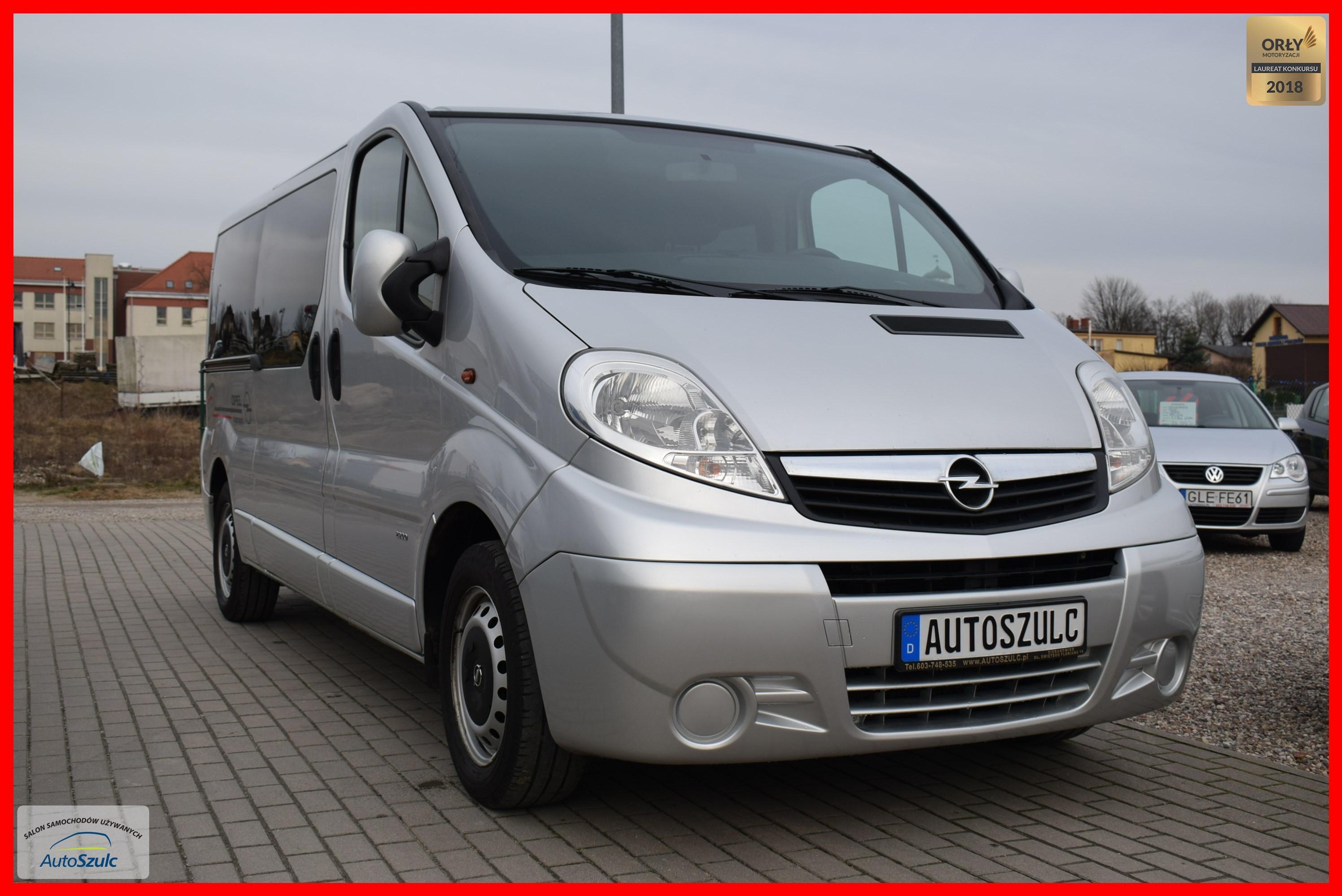 Ogromnie Opel Vivaro 2.0 CDTI, 9- Osobowy, Wersja LONG, Klimatyzacja VA19