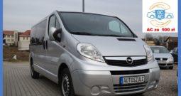 Opel Vivaro 2.0 CDTI, 9- Osobowy, Wersja LONG, Klimatyzacja, Bardzo zadbany, Serwisowany, Bezwypadkowy, Gwarancja