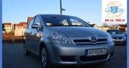 Toyota Corolla Verso 2.0 D-4D, Zarejestrowany, 7-Osobowy, Salonowy, Rodzinny, Gwarancja