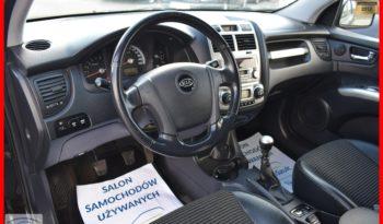 Kia Sportage 2.0 CRDI , Terenowy 4×4, Czarny-metalik, 6-biegów, Hak, Klimatronik, Pół-skóry, Zadbany full