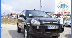 Hyundai Tucson 2.0 Benzyna, Klima, Hak, Zadbany, Bezawaryjny, Gwarancja Techniczna