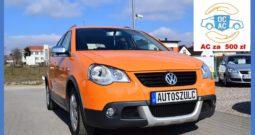 VW Polo Cross 1.9 TDI, Serwisowany, Jedyny w swoim rodzaju, Model : 2007, Niespotykany kolor