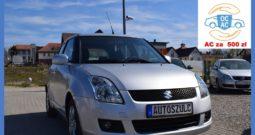 Suzuki Swift 1.3 Benzyna, Ekonomiczny, Bogato wyposażony, I-Właściciel, Serwisowany do końca, 5-drzwi, Gwarancja
