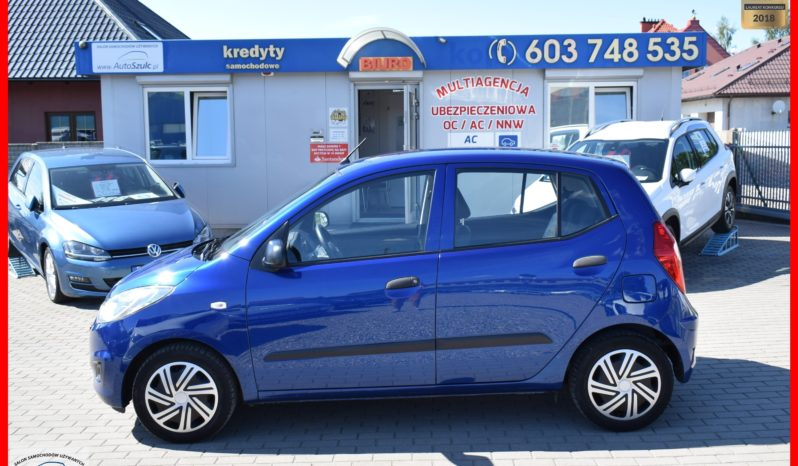 Hyundai I10 , 1.1 Benzyna, 5-drzwi, Zadbany, Bezwypadkowy, Niski przebieg, Serwis do końca, Ekonomiczny, Gwarancja full