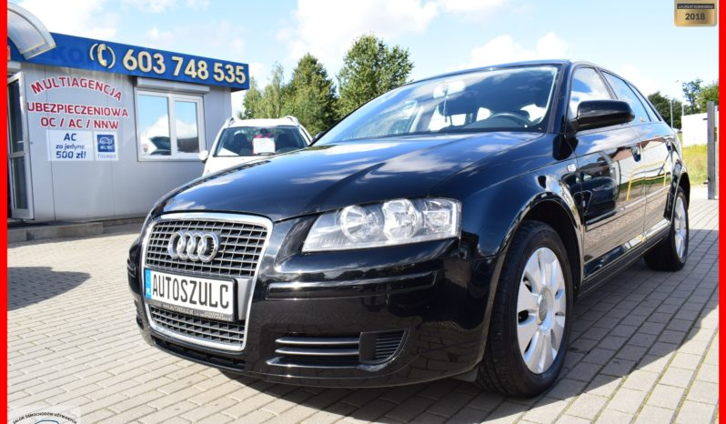Audi A3 1.8 Benzyna, Sportback, I-Właściciel, Zarejestrowany, Opłacony, Serwisowany, Bez wkładu, Gwarancja full