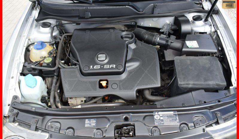 Seat Leon 1.6 Benzyna, Zarejestrowany, I-wsza Rej : 2000 r, 5-drzwi, Bez wkładu finansowego, Klima full