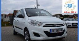 Hyundai I10 1.1 Benzyna, Serwisowany, 5-drzwi, Klima, Central, Bezwypadkowy, Ekonomiczny, Miejski, Gwarancja