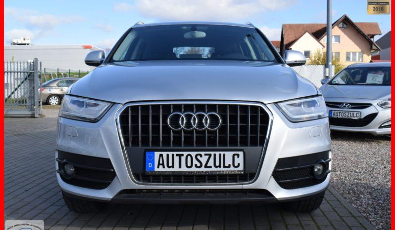 Audi Q3 2.0 TDI Quattro, Xenon, Navi, Klimatronik,6-biegów, Serwisowany, Bezwypadkowy, Menu PL, Gwarancja full