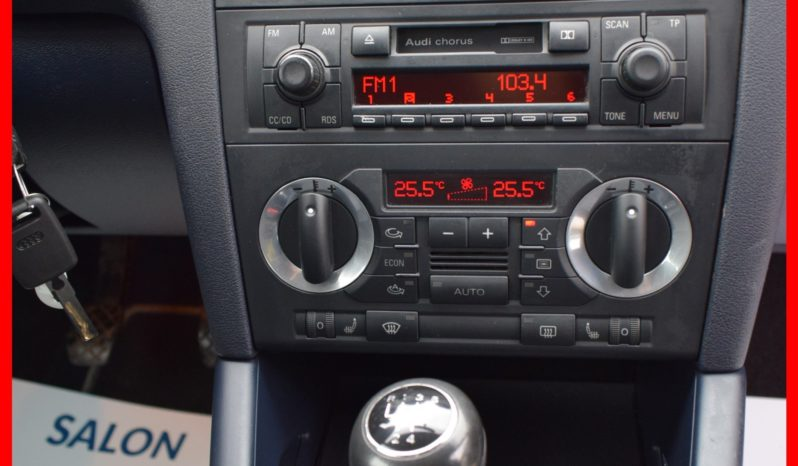 Audi A3 1.6 Benzyna LIFT, 3-drzwi, Ekonomiczny, Model : 2005, I-Właściciel, Najlepsza jednostka full