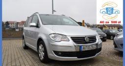 VW Touran 1.9 TDI , Po Lifcie, Najlepszy silnik, 6-biegów, Klima, Gwarancja