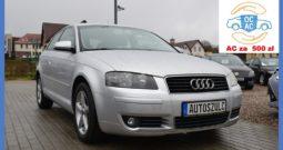 Audi A3 1.6 Benzyna LIFT, 3-drzwi, Ekonomiczny, Model : 2005, I-Właściciel, Najlepsza jednostka