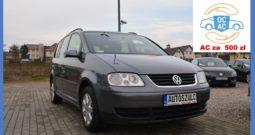 VW Touran 1.9 TDI, 7-Osobowy, Zarejestrowany, Rodzinny, Zadbany, Gwarancja