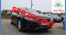 Audi A4 B8 2.0 TDI common rail,170 PS, I-Właściciel, Zarejestrowany, Kombi, Navi, Alu, Serwisowany, Bezwypadkowy