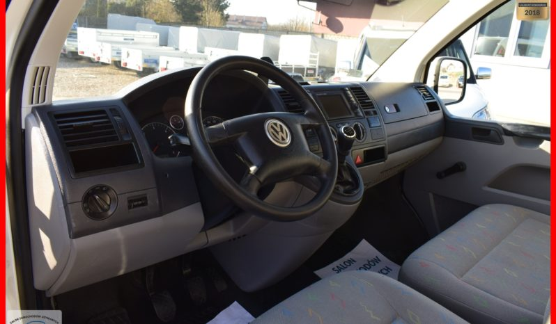 Volkswagen Transporter T5 1.9 TDI, 3-osobowy, Zarejestrowany, Spełnia warunki VAT-1 , Blaszak, Rok Gwarancji full